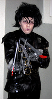Edward Scissorhands Costume 2011 2nd Pose by FajitaPitaGuy