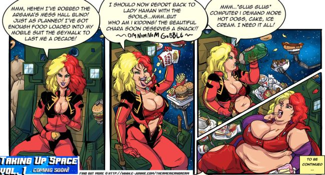 ZZ Gundam Chara's Calories II Preview page 1 by TheAmericanDream