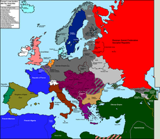 Central Powers Victory Europe by Condottiero