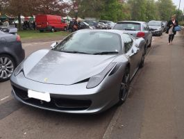 458 Spyder front by Car-lover33