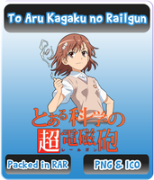 To Aru Kagaku no Railgun - Anime Icon by Rizmannf