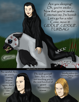 The Joys of Aro Ownership! by Sapphiresenthiss
