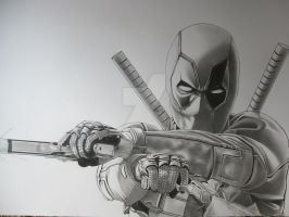 Deadpool finished by corysmithart