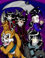 Fearsome Fivesome by Amelius