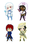 More chibis by Inupii