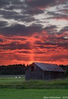 Barn on Fire by Gilgond
