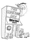 Storefront coloring page by PlummyPress