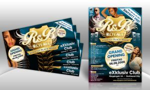 RnB Royale Flyer by kejdi