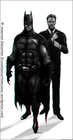 My ideal Batman by Sebastien-Ecosse