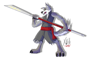 Training by Xaos-Wolf