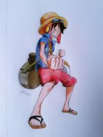 Luffy Strong World by NikkouViolet