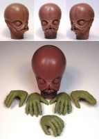 Figrin D'an and Modal Nodes by TKMillerSculpt