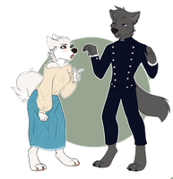 COMMISSION: Hand Talk by Nekoshiba