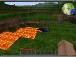 MINECRAFT: Surface Lava pool by minecraftplz