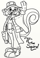 TC The Squirrel by Inkwell-Pony