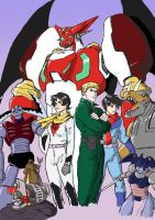 Getter Robo: Legacy by Darcad