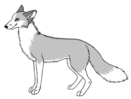 Platinum Fox by wolfforce58