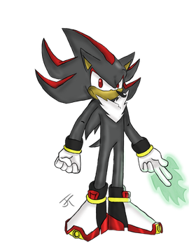 Shadow the Hedgehog by sonicblitz91