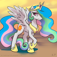 Speedpaint 11 - Celestia by KP-ShadowSquirrel