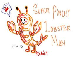 Super Pinchy Lobster Man by Queen-of-Sheba