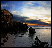 Bennion Beach Sunset by stevenjo