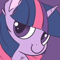 Twilight Sparkle Poster Icon by TheZealotNightmare