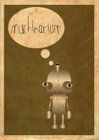 Machinarium Poster by Procastinating