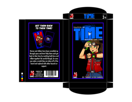Trapped In Time Card Box by Raffian