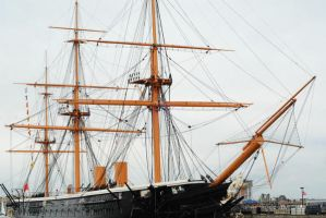 HMS Warrior by fraggingfreek