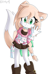 AT: Jade the Fox by Cymb1on