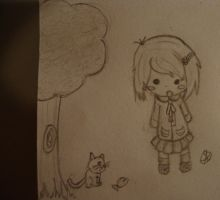 FIRST CHIBI EVAR XD by BoWhatElse