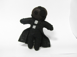 Nick Fury Plush by Ginger-Storm