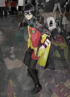 Comic Con Mash Up- Robin Young Justice by Asterous