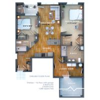 3d floor plan by zodevdesign
