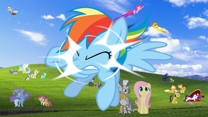 Windows Pony Wallpaper 16:9 (4510 x 2537) by RealBoser