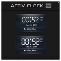 Activ Clock by addyf812