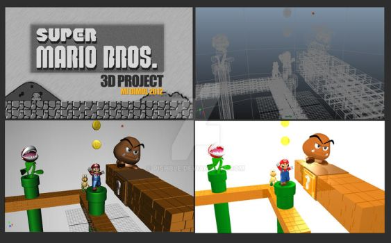 Mario 3D Project by pishble