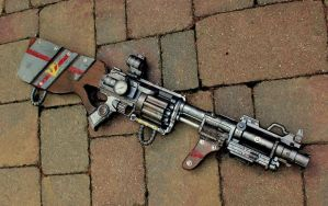 The Nobyl Rifle (Yep, that's good enough.) by KingMakerCustoms