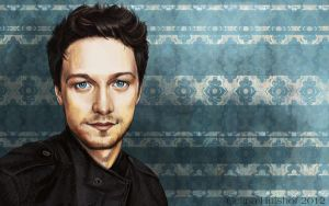 James McAvoy by concentriccookies