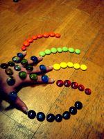 Colorful Hand by Liburnica