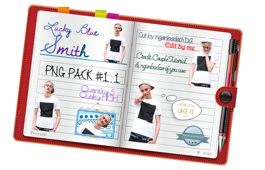 Lucky Blue Smith PNG Pack #1.1 by CoupleTutorial