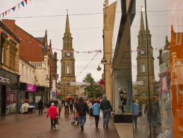Falkirk High Street in Colour by BusterBrownBB
