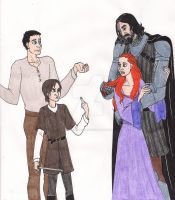 Arya Does Not Approve by 13foxywolf666