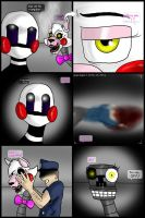 FNAF Comic : Good and Bad Ones (Part 23) by Shimazun