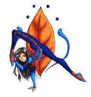 Contortion colored by Stravagante111