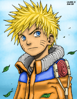 Naruto in Color by Tanaka-Han