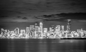 Seattle Night by LarryGorlin