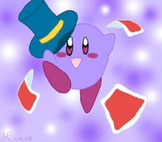 Magic Grape Kirby by AshRob89