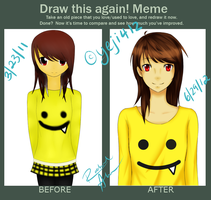 Draw This Again Meme: Audition Character by Yeji412