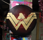 Wonder Woman Clock by deadwitchy
